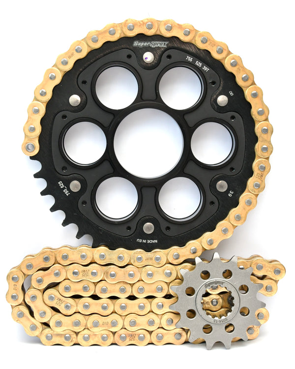 Supersprox Chain & Sprocket Kit for Ducati Panigale - Choose Your Gearing