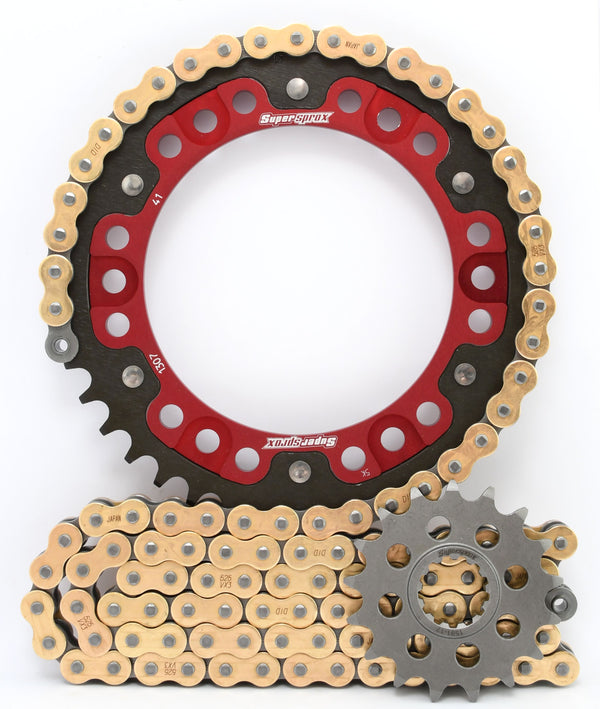 Supersprox Chain & Sprocket Kit for Honda CBR600RR 2007-2016 - Standard Gearing