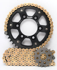 Supersprox Chain & Sprocket Kit for Kawasaki Z1000 10-13 - Standard Gearing