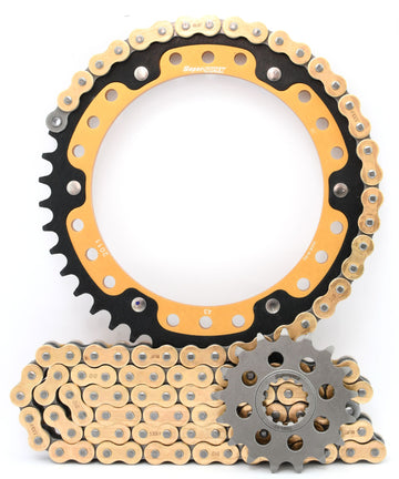 Supersprox Chain & Sprocket Kit for Triumph Speed Triple 1050 (Inc S/R/RS) - Standard Gearing