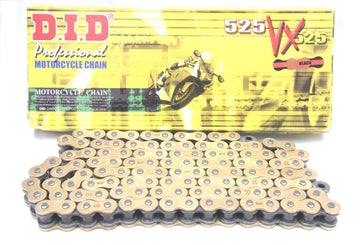DID Pro-Street VX Series Chain 112 Links 525 Pitch - Grade A Clearance