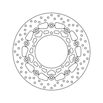 Brembo Serie Oro Floating Brake Discs - Front PAIR (78.B408.60)