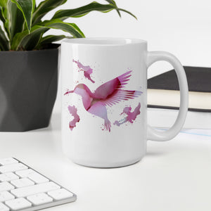 Becher Kolibri Rosa - Colorshape.eu