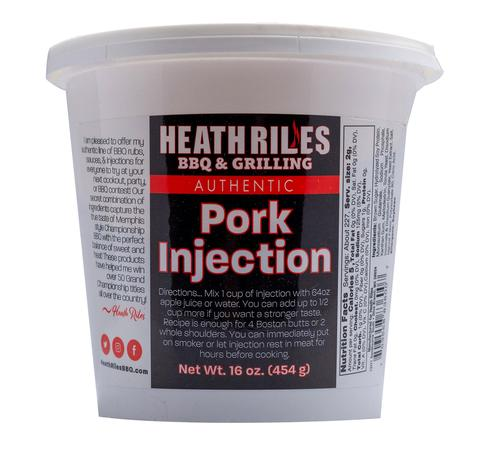 Heath Riles BBQ Pork Injection 454g