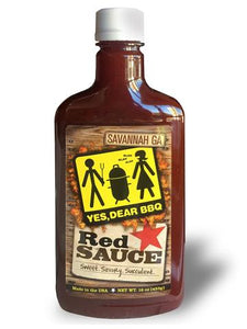Yes Dear BBQ Red Sauce 482ml