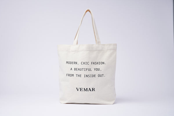 Vemar Canvas Tote bag (WH)