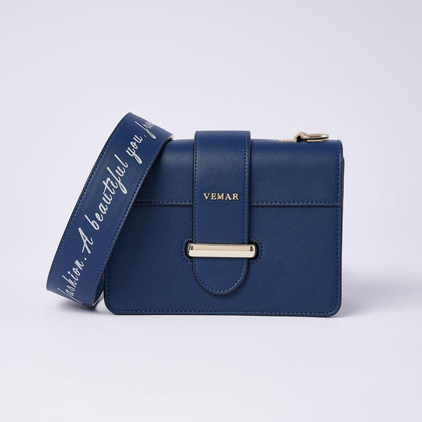 Charlotte Max - Classic Square Bag With Clash Color (BL) - VEMAR MALAYSIA I A beautiful you,from the inside out.