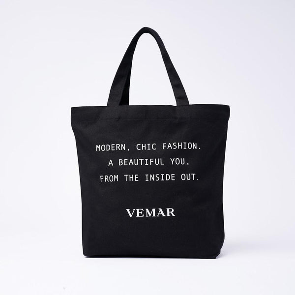 Vemar Canvas Tote bag (BK) - VEMAR MALAYSIA I A beautiful you,from the inside out.