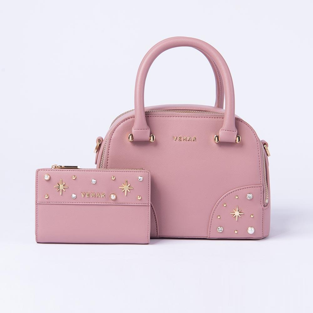 Vemar Shiny Boston Bag Set - VEMAR MALAYSIA I A beautiful you,from the inside out.