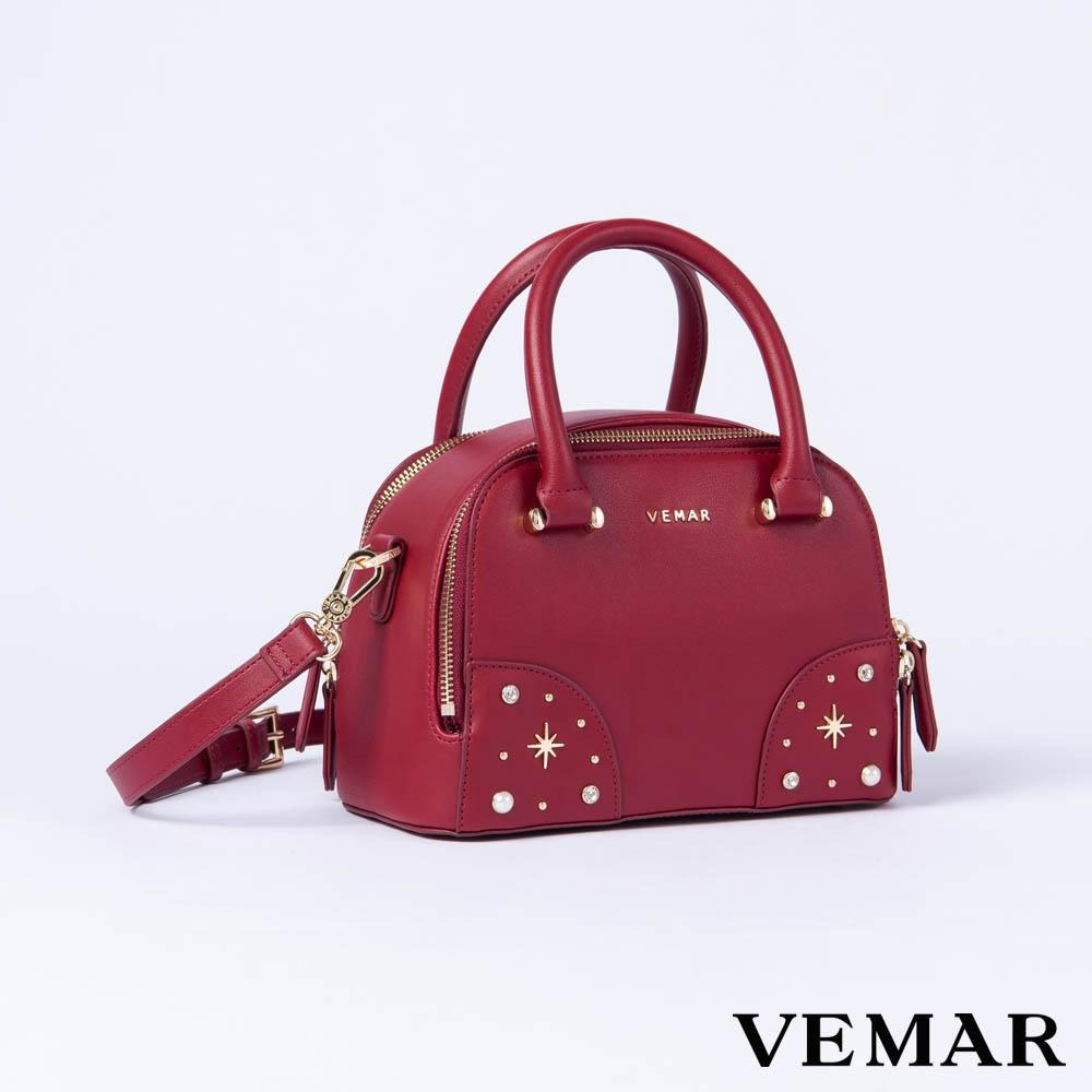 Vemar Shiny Boston Bag