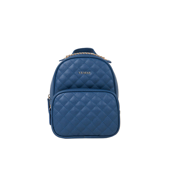 Vemar Quilted Multi-Funtion Chain Backpack