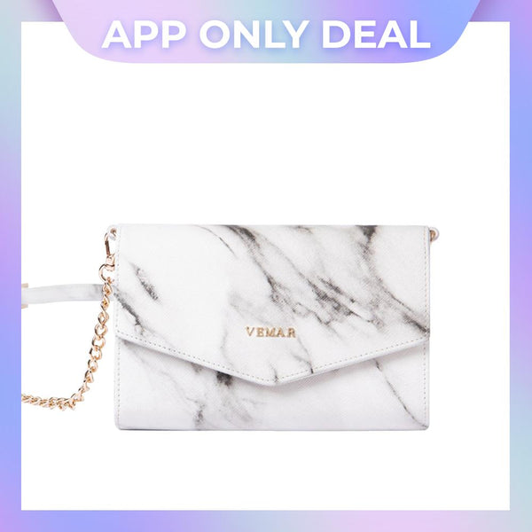 Vemar Marble Texture Shoulder Bag - VEMAR MALAYSIA I A beautiful you,from the inside out.