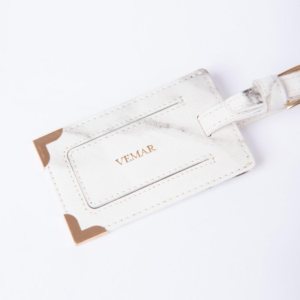 Vemar Marble Texture Luggage Tag - VEMAR MALAYSIA I A beautiful you,from the inside out.