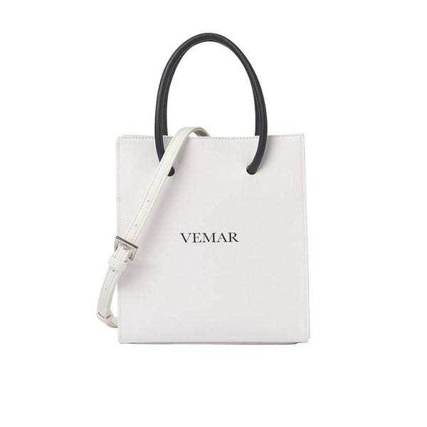Rebecca - Chic Two Way Shopping Bag (WH)