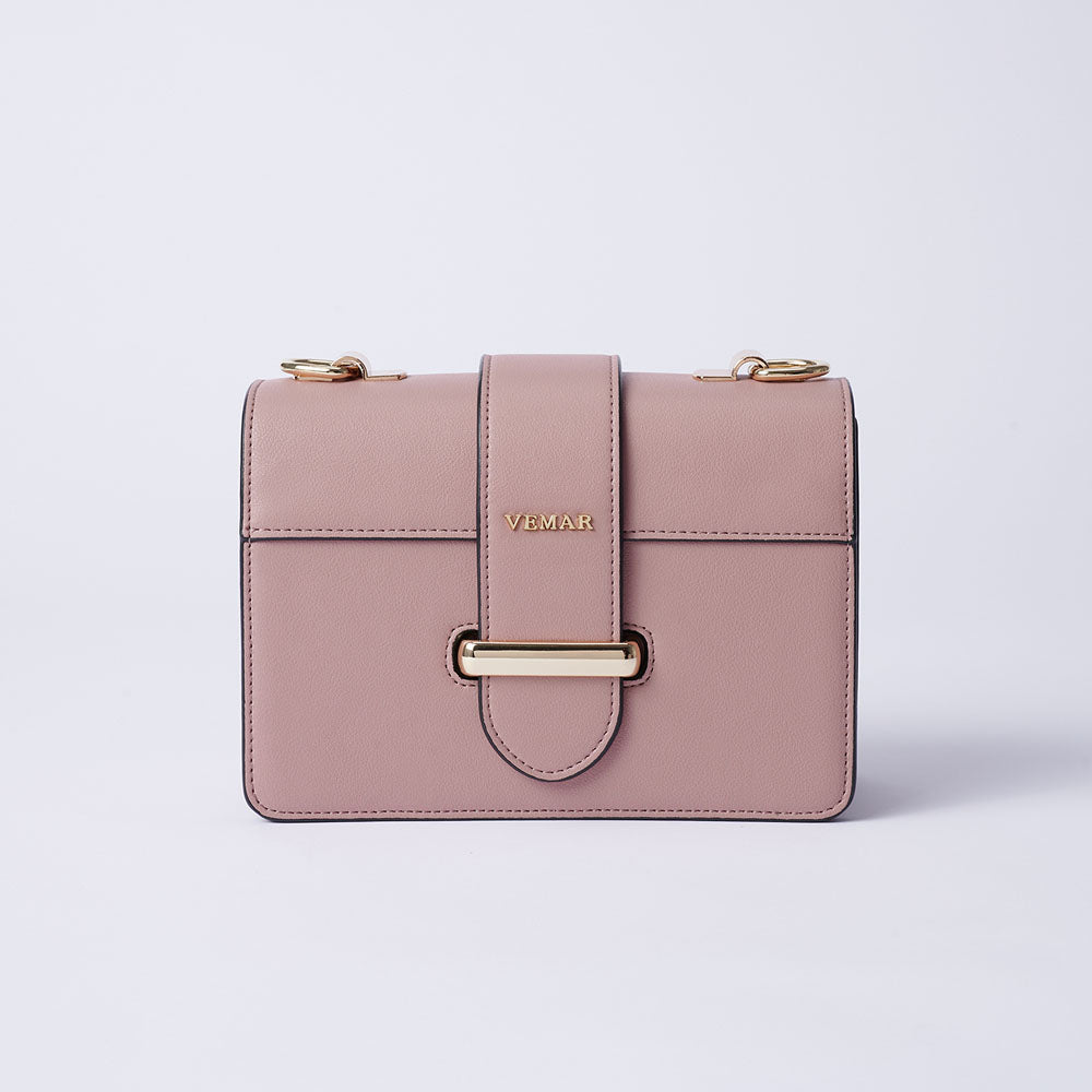 Charlotte Max - Classic Square Bag With Clash Color (PK)