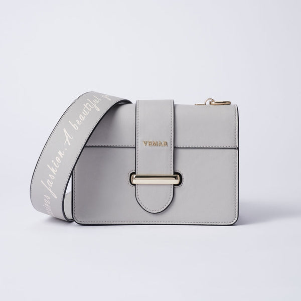 Charlotte Max - Classic Square Bag With Clash Color (GY)