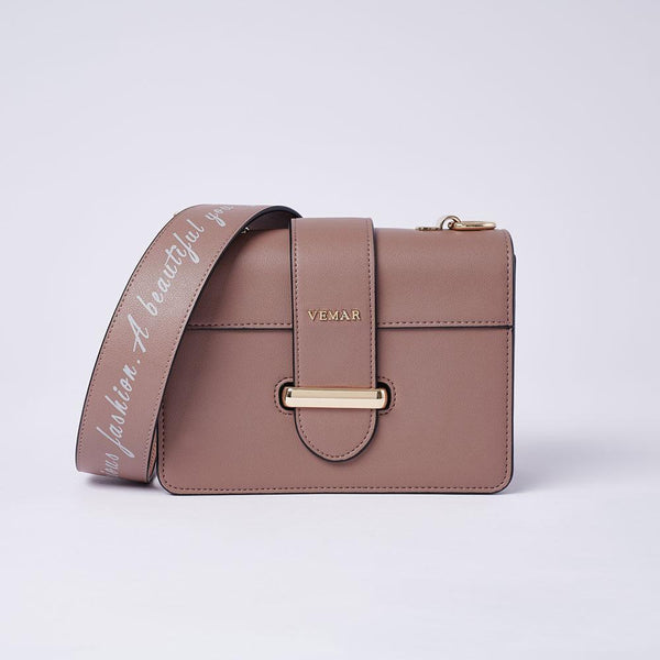 Charlotte Max - Classic Square Bag With Clash Color (BR) - VEMAR MALAYSIA I A beautiful you,from the inside out.