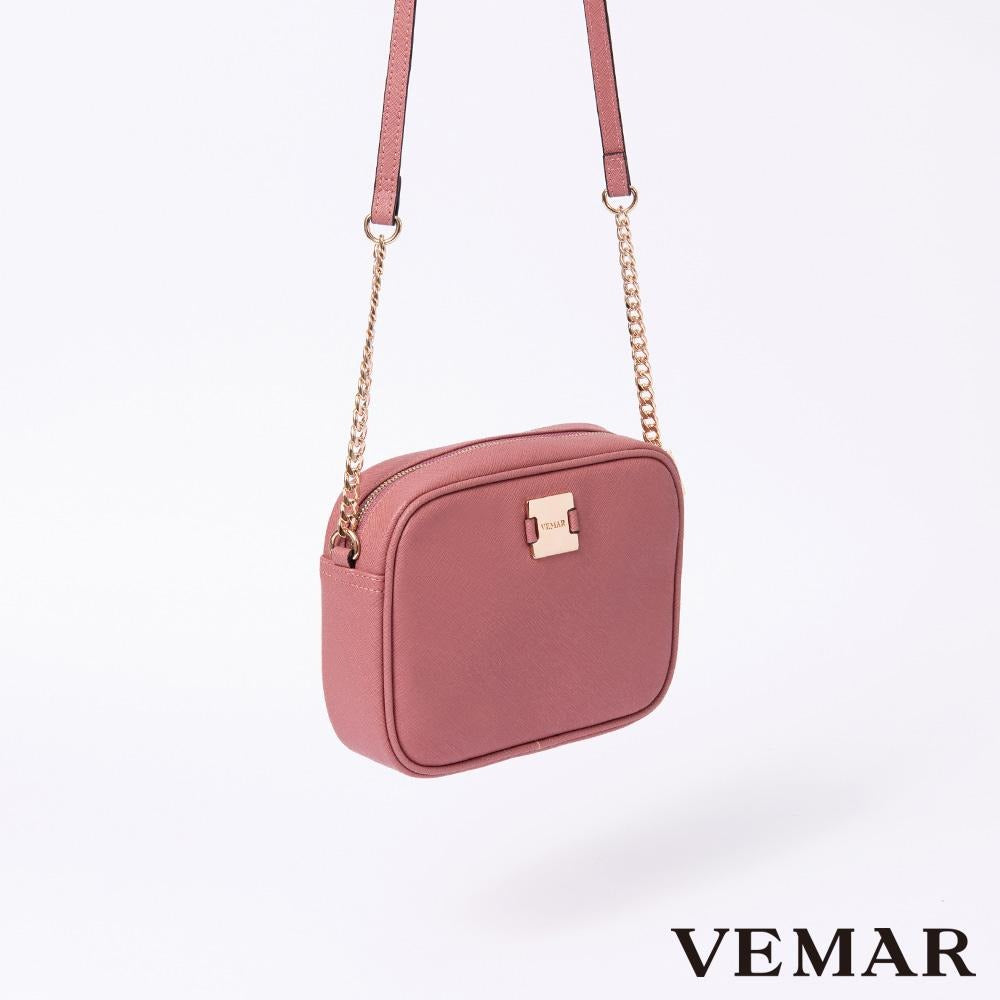 Vemar Quilted Square Crossbody Bag