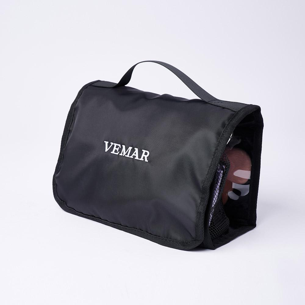 Vemar Multifunctional Roll-Up Travel Makeup Bag (BK) - VEMAR MALAYSIA I A beautiful you,from the inside out.