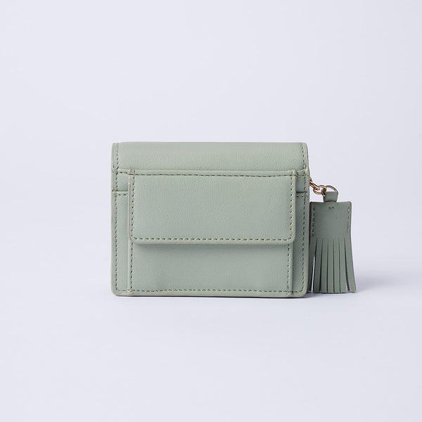 Elvira - Vemar Bi-fold Wallet With Tassel(GR)