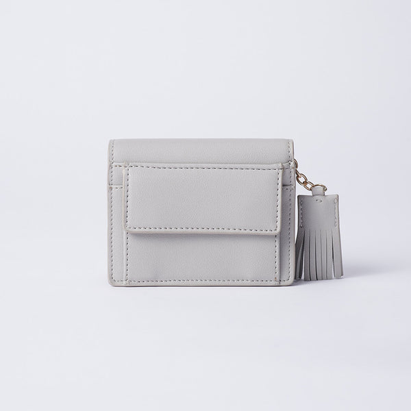 Elvira - Vemar Bi-fold Wallet With Tassel(GY)