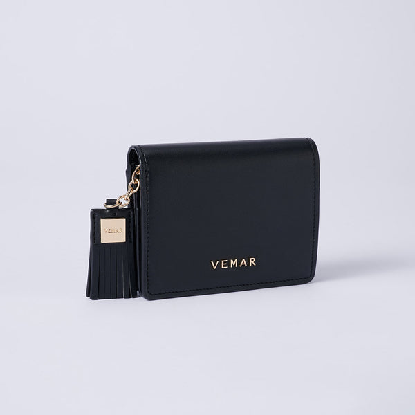 Elvira - Vemar Bi-fold Wallet With Tassel (GR)