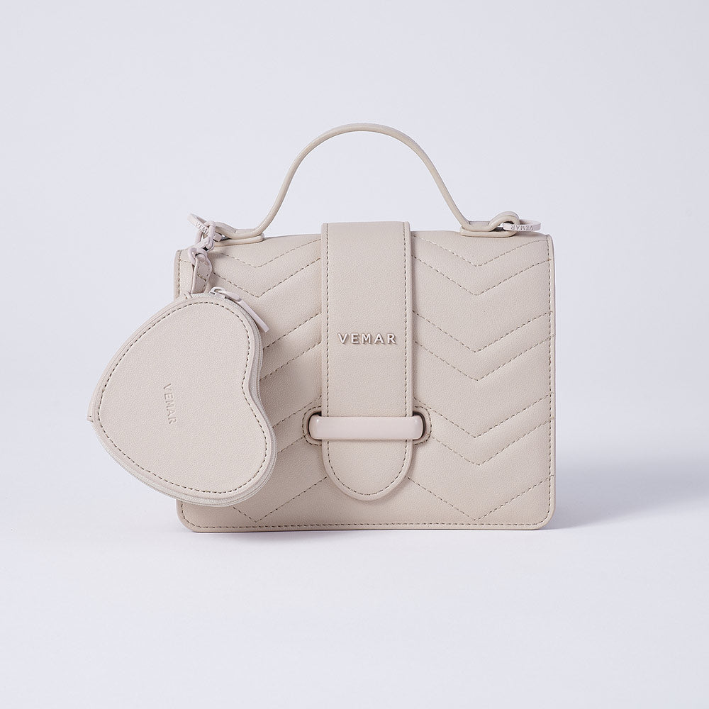 【Defective】IRMA-Vemar Classic Square Bag with Love Wallet-(BG)
