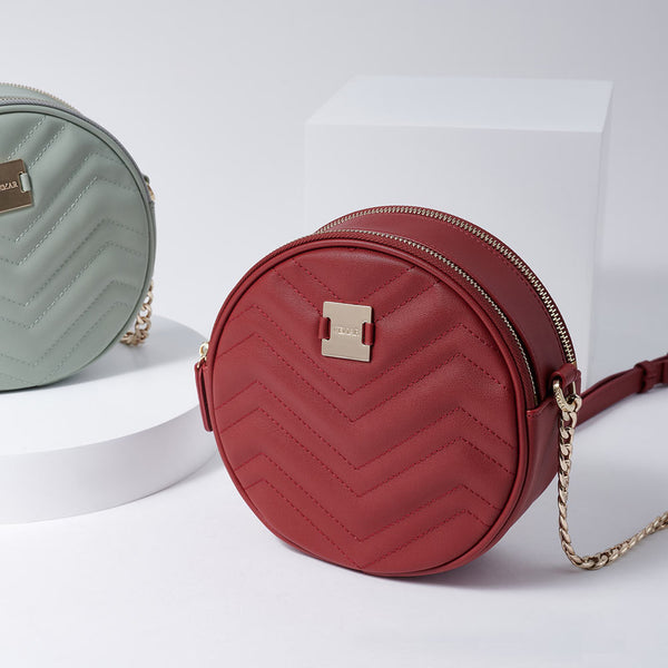 LETITIA - Vemar Double Layer Round Bag (RD)