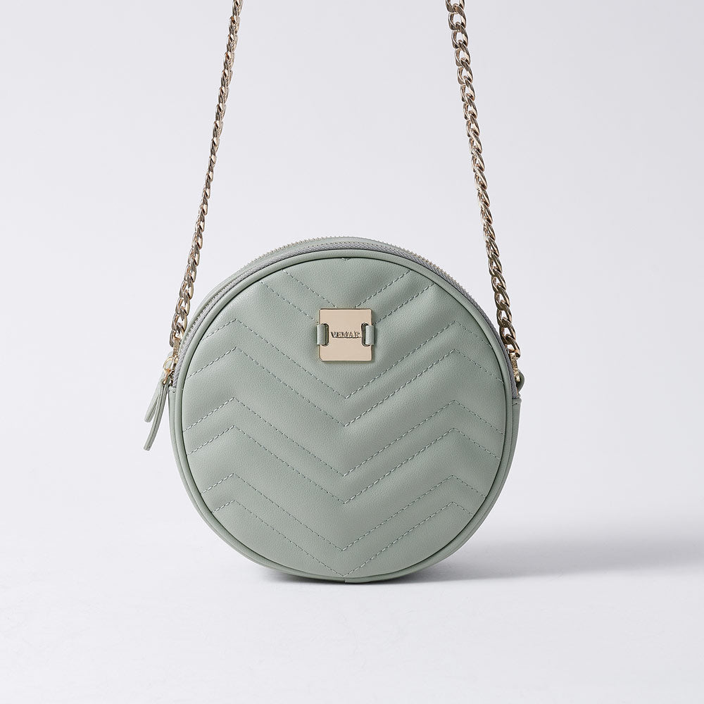 LETITIA - Vemar Double Layer Round Bag (GR)