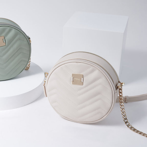 LETITIA - Vemar Double Layer Round Bag (BG)