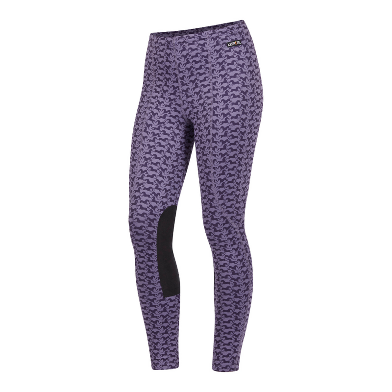 Kerrits Women's Power Stretch Knee Patch Winter Pocket Tight