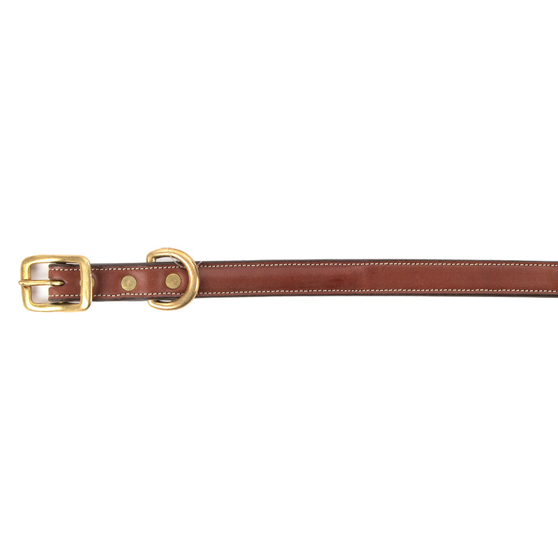 Tory Raised Leather Dog Collar