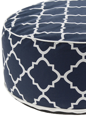 Pouf azul marino Inflable - Couzy