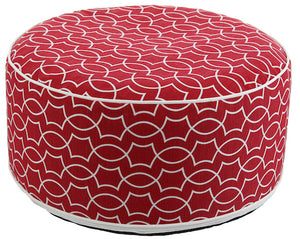 Pouf rojo Inflable - Couzy