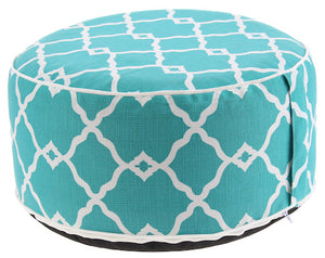 Pouf azul turquesa Inflable - Couzy