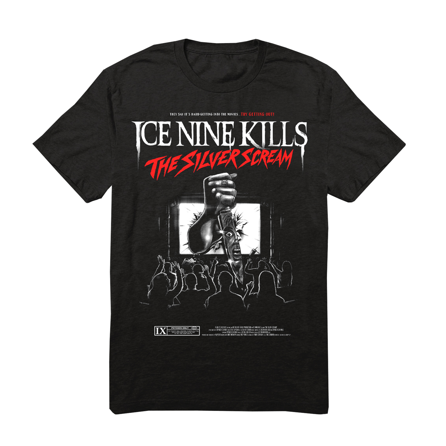 Ice Nine Kills - The Silver Scream Album Tee