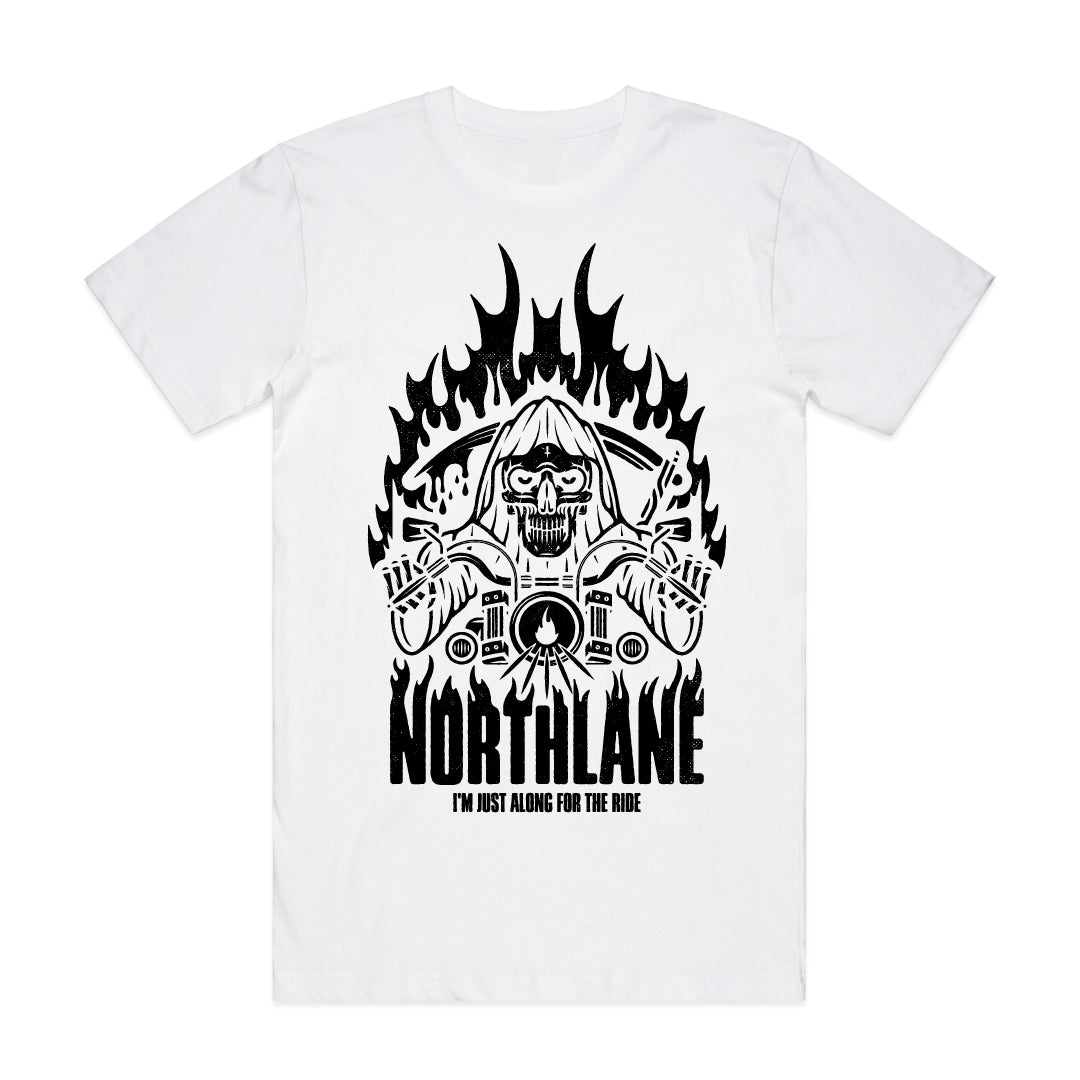 Northlane - Along For The Ride T-Shirt - White