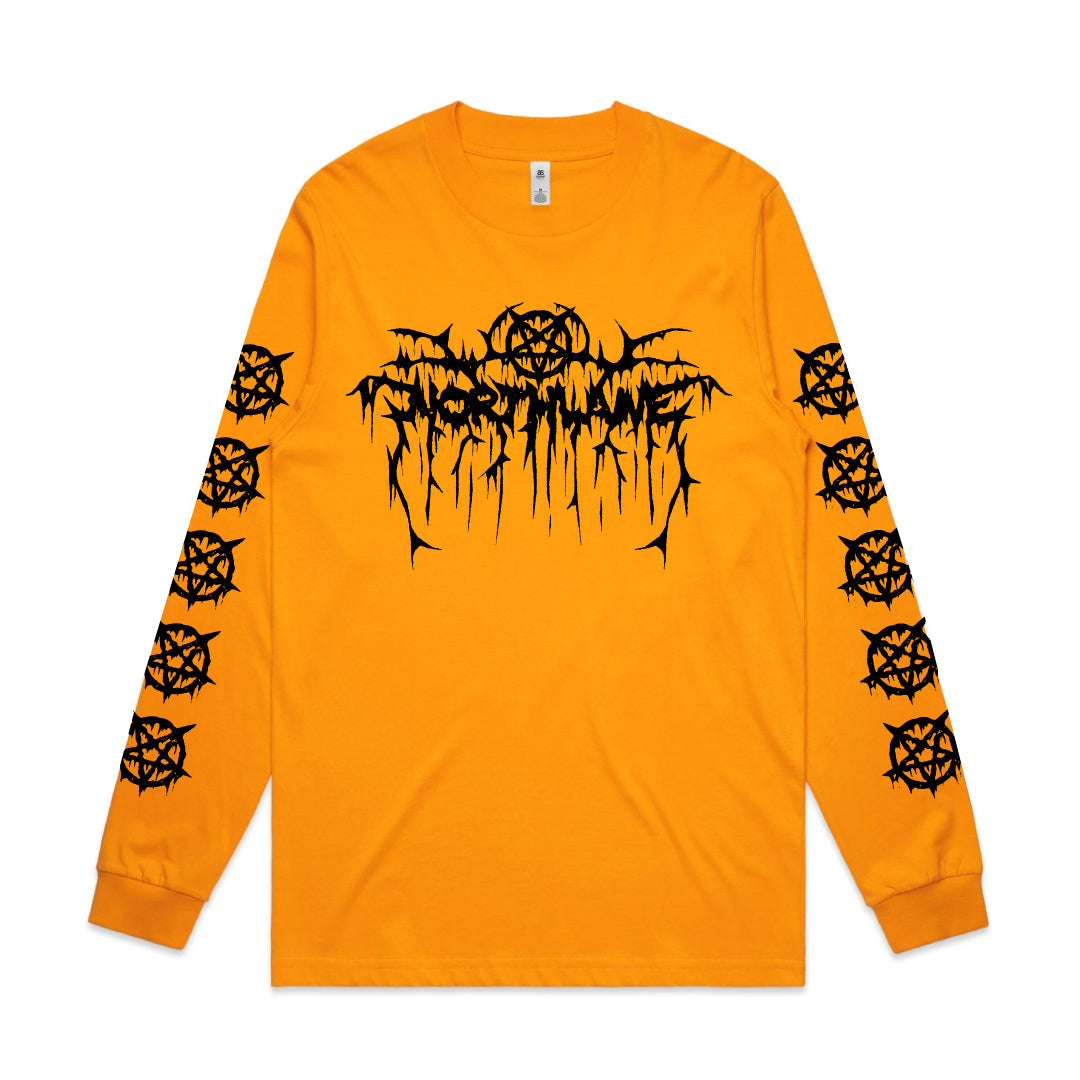 Northlane - Throne Of Darkness Gold Long Sleeve