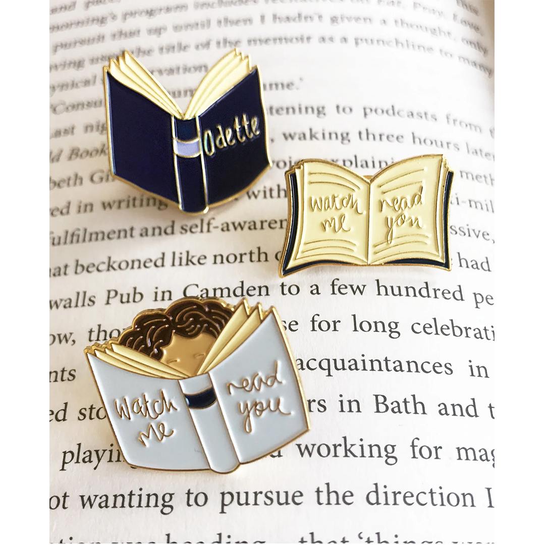 Odette | 'To A Stranger' Book Pin