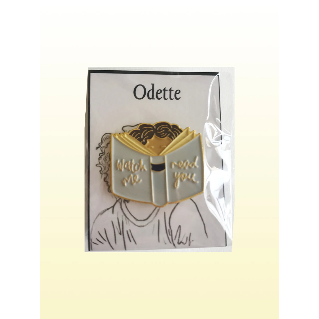 Odette | 'Hair' Book Pin
