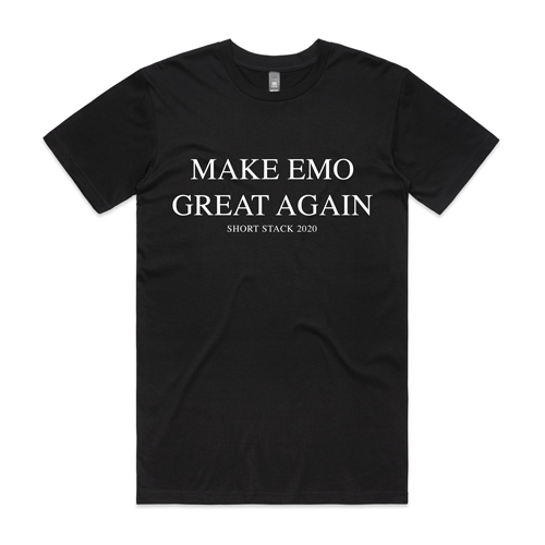 Short Stack - MEGA Tee (Make Emo Great Again)