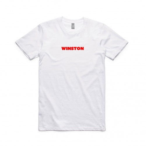 Winston Surfshirt - Red Logo
