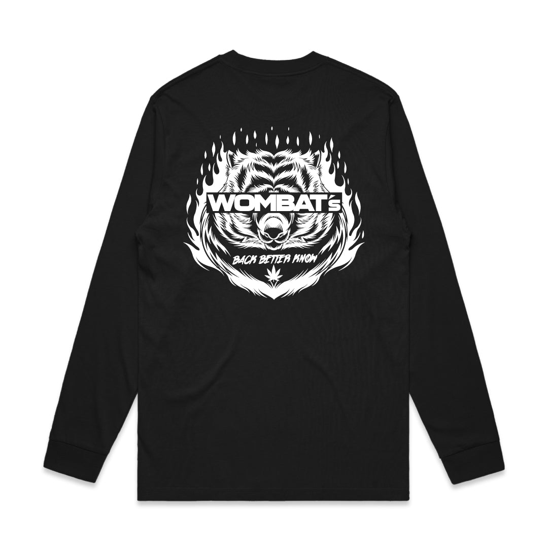 Wombat - Black Long Sleeve