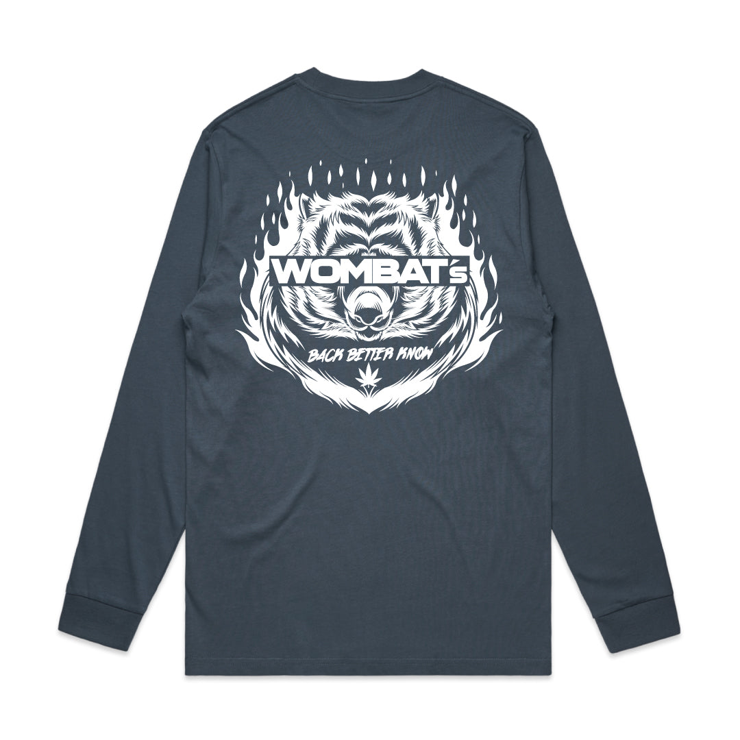Wombat - Blue Long Sleeve