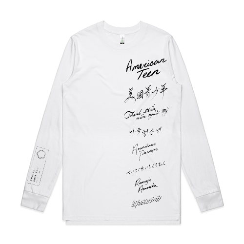 Khalid - White Asia Tour Long Sleeve