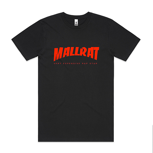 Mallrat - Original Logo Black Tee