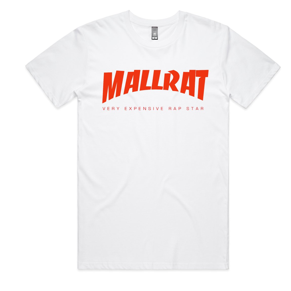 Mallrat - Original Logo White Tee