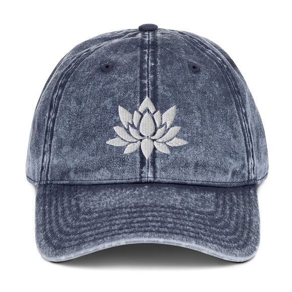 Lotus Vintage Cotton Twill Cap
