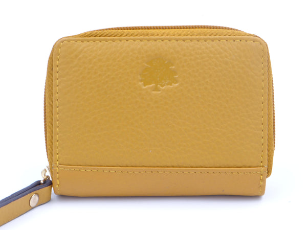 Second Nature Manage Me Card Wallet Mustard