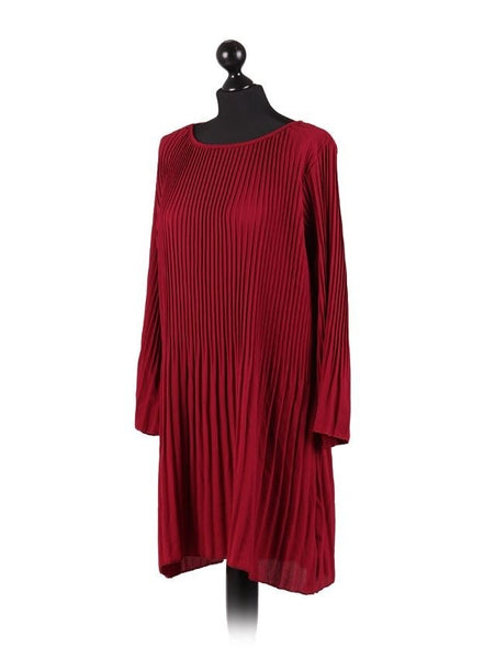 Anne + Kate Italian Pleated Dress